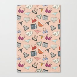 Unmentionables  Canvas Print