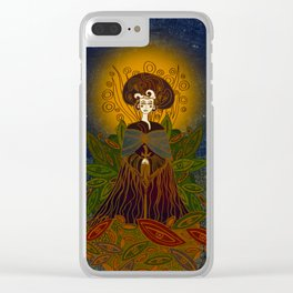 Mother Earth Clear iPhone Case