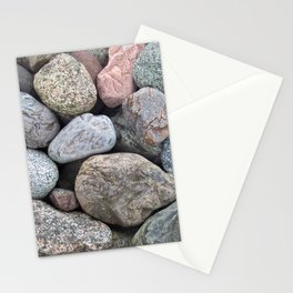 Colorful Canadian Rocks Stationery Cards