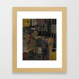 Abrasions  Framed Art Print