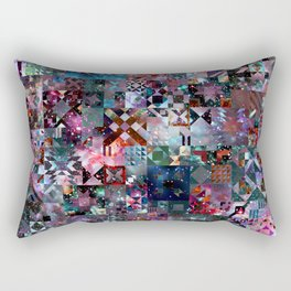 Galaxy Quilt Rectangular Pillow