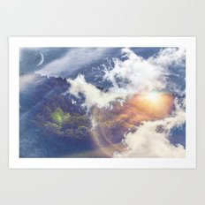 Voyage to Another Dimension Art Print