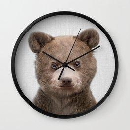 Baby Bear - Colorful Wall Clock