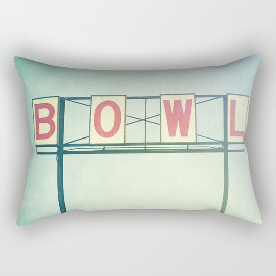 Bowl Rectangular Pillow