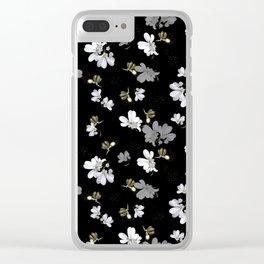 Fireflies & Coriander Clear iPhone Case