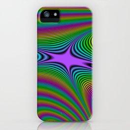 Fractal Spectrum iPhone Case