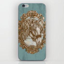 Ornate Horse Portrait iPhone Skin