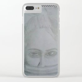 Where does she sit my muse. I Clear iPhone Case