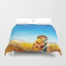Everything is Right Duvet Cover