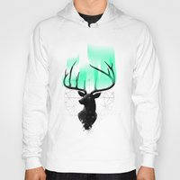 northern lights Hoodies featuring Northern Lights by angrymonk