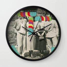 Television Memories Wall Clock