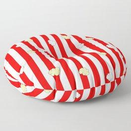 Popcorn Red Stripes Floor Pillow