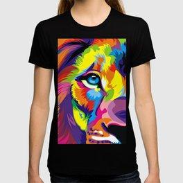 Colored Lion T-shirt