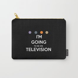 Requiem For A Dream - I'm Going To Be On Television Carry-All Pouch