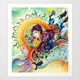 Trance Art Print
