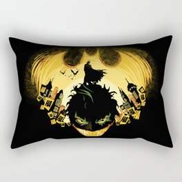Dark Knightmare Rectangular Pillow