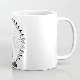 London Wheel Silhouette Coffee Mug
