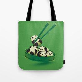 Panda Dumpling Tote Bag