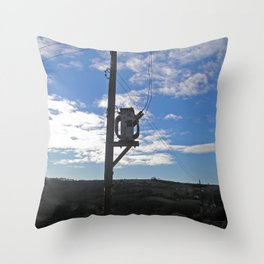 Sub Stereo 1 Throw Pillow