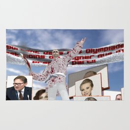 Elections in Russia Rug