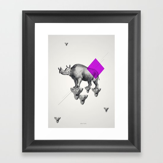 Archetypes Series: Solitude Framed Art Print