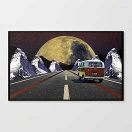 Driving Into Space Canvas Print