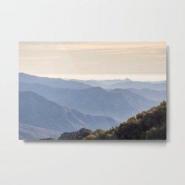 Sierra Nevada Mountains - California Metal Print