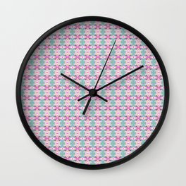 Tango In The Attic x Fraser Stephen 'Crushed Up' Geometric Print Wall Clock