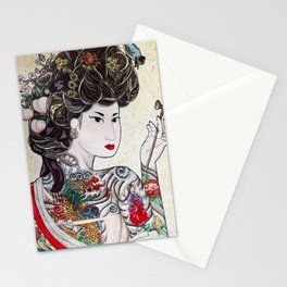 Min Hee  Stationery Cards