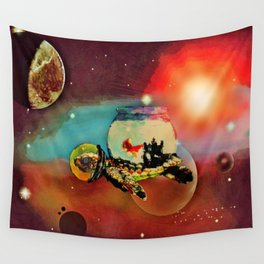 SPACE TURTLE VII - 202 Wall Tapestry