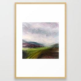 Après la fonte des neiges Framed Art Print