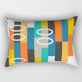 Modern abstract construction Rectangular Pillow