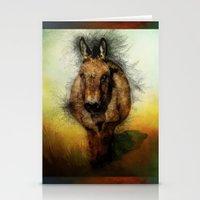 donkey Stationery Cards featuring Donkey by Ginkelmier