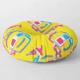 3D HAPPY Floor Pillow