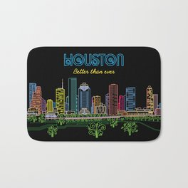 Houston Better Than Ever Circuit Bath Mat
