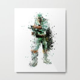 BOBA FETT Star . Wars Metal Print