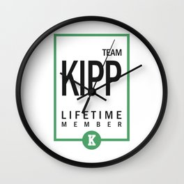 Team Kipp Gift Wall Clock