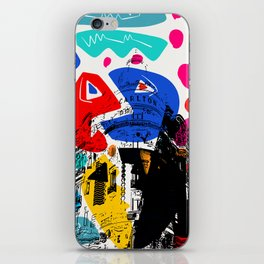 Cannes French Riviera Croisette Carlton Art iPhone Skin