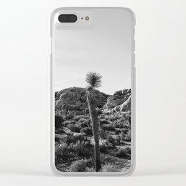 Joshua Tree National Park XVIII Clear iPhone Case