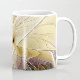Floral Beauty, Abstract Fractal Art Flower Coffee Mug