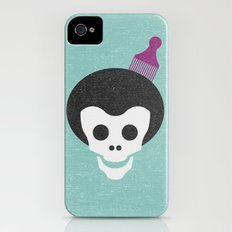 Skull with Fro. Slim Case iPhone (4, 4s)