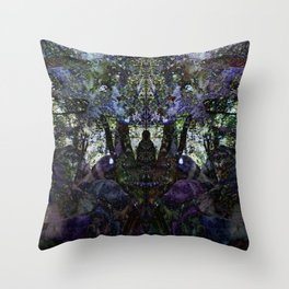 Forest Worship Throw Pillow