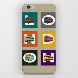 London Double Decker iPhone Skin