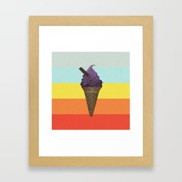Icecream Framed Art Print
