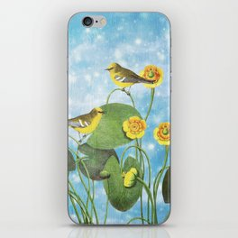 One Morning in the Water Lily Pond iPhone Skin
