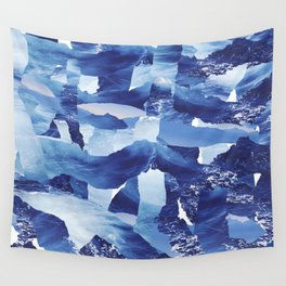 Nautical abstract pattern Wall Tapestry