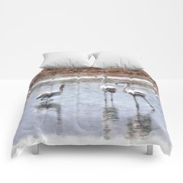 Strike A Pose Comforters