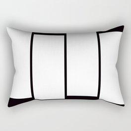 Black Bag Rectangular Pillow