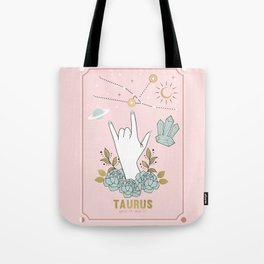 Taurus Zodiac Series Tote Bag