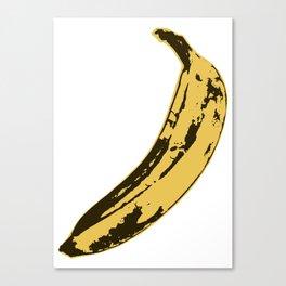 Banana Pop Art for Prints, Posters, Tshirts, Wall Art, Men, Women, Youth Canvas Print